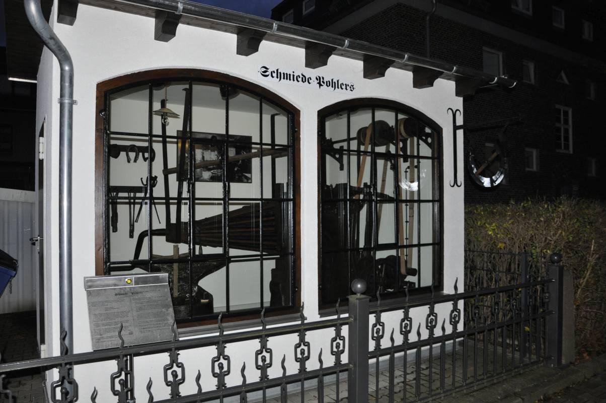 Museumsraum der Schmiede Pohlers