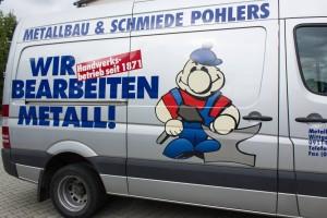 Einsatzfahrzeug der Schmiede Pohlers