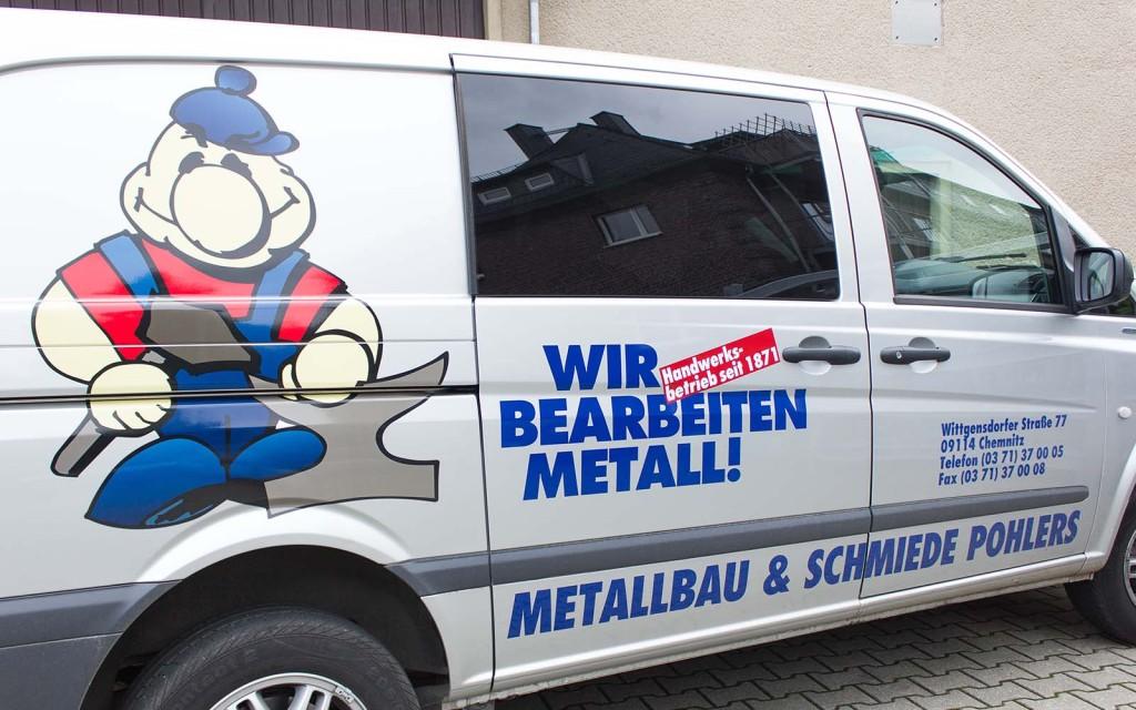 Herzlich Willkommen auf der Webseite von Metallbau Pohlers