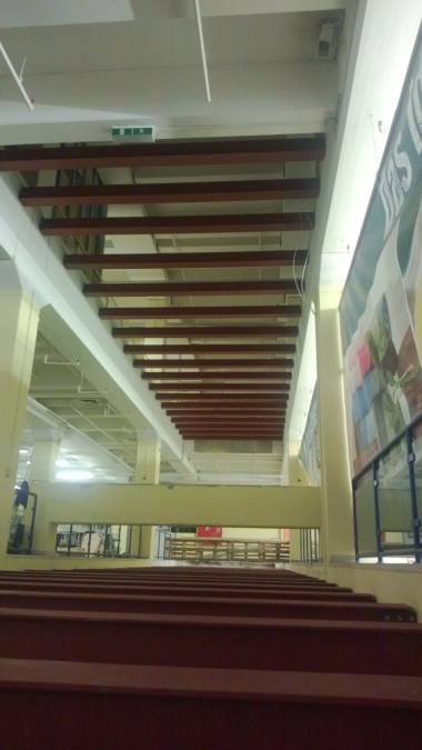Träger als Tragkonstruktion zum Verschließen der Deckendurchbrüche
