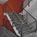 Treppengeländer mit Edelstahlhandlauf