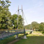 Brückengeländer Chemnitztalradweg mit Edelstahlnetzfüllung