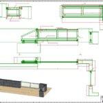 Automatisierte Schiebetoranlage mit Eingangspforte und Briefkasten. Füllung der Tore aus HPL – Platten